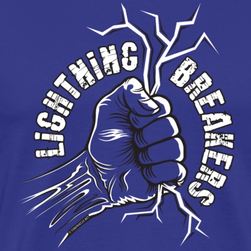 Lightning Breakers - print textiles and Gifts - Miesten premium t-paita