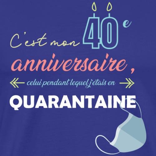 quarantaine - T-shirt Premium Homme