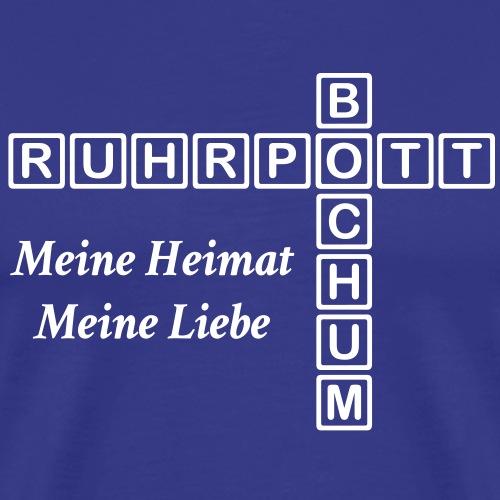 Ruhrpott - Bochum - Meine Heimat, meine Liebe - Männer Premium T-Shirt