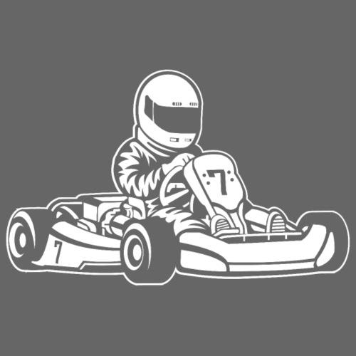 Go-Kart / Go-Cart 01_weiß - Männer Premium T-Shirt