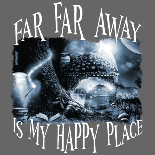 My Happy Place - Black & White