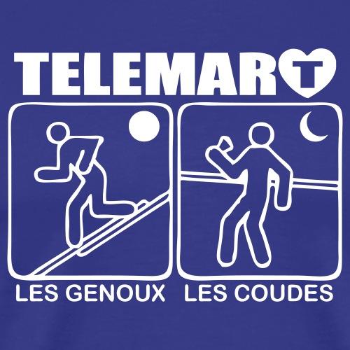 2017 telemarcoeur by night - T-shirt Premium Homme