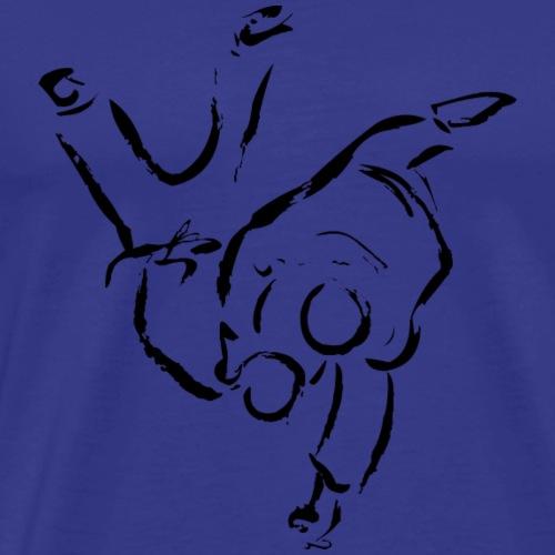 HANE GOSHI NERO - Maglietta Premium da uomo