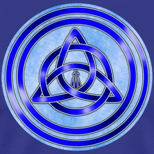 Awen Triqueta Circle - Men's Premium T-Shirt