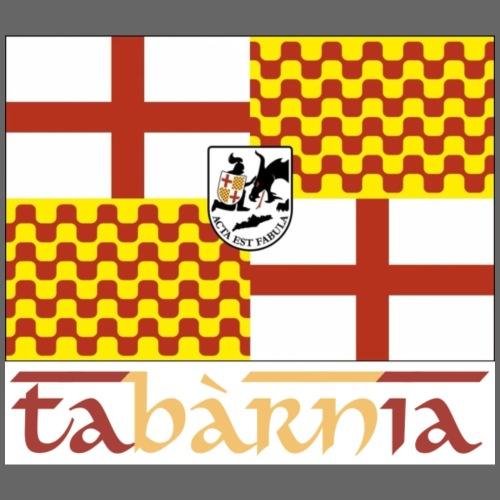 Bandera Tabarnia letra simran - Camiseta premium hombre