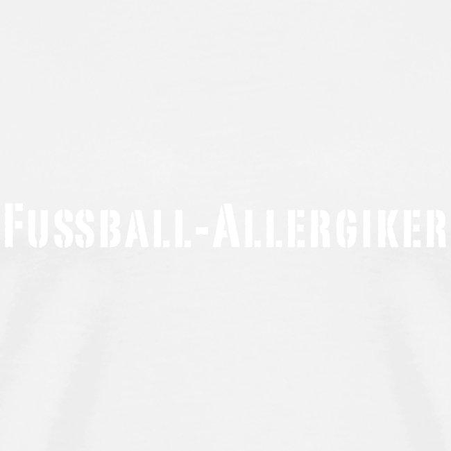 Fussball Allergiker