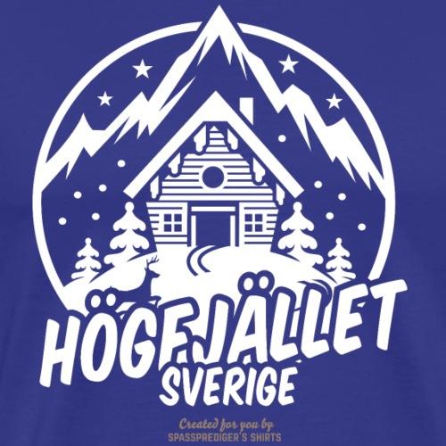 Högfjället | Ski T-Shirts - Männer Premium T-Shirt