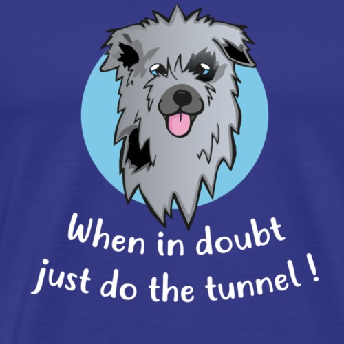 Pyrshep Tunnel - Männer Premium T-Shirt
