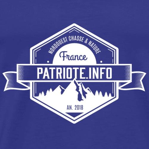 Hexagone patriote info style 14 - T-shirt Premium Homme