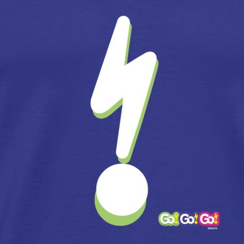 Go!Go!Go! Lightening Bolt Green - Men's Premium T-Shirt