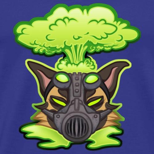 Atom Mutts - Miesten premium t-paita