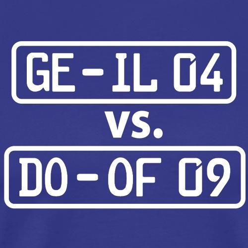 GE-IL 04 vs DO-OF 09 - Gelsenkirchen gegen - Männer Premium T-Shirt