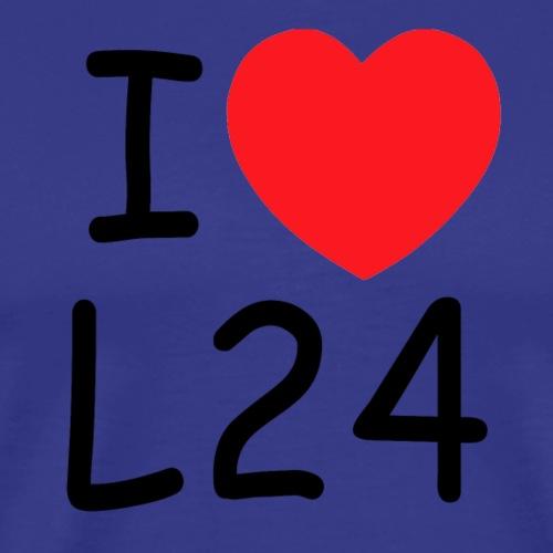 I love L24 - Männer Premium T-Shirt