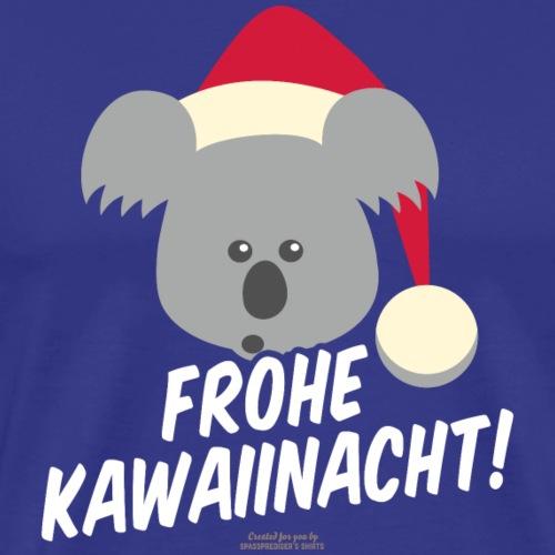 Ugly Christmas Kawaiinacht für Weihnachten - Männer Premium T-Shirt