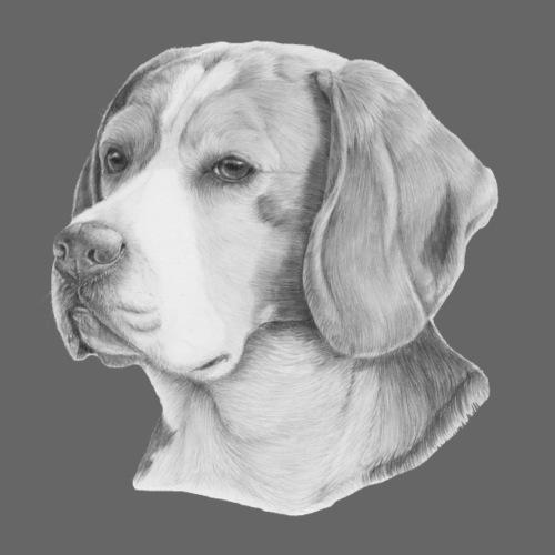 beagle M - Herre premium T-shirt