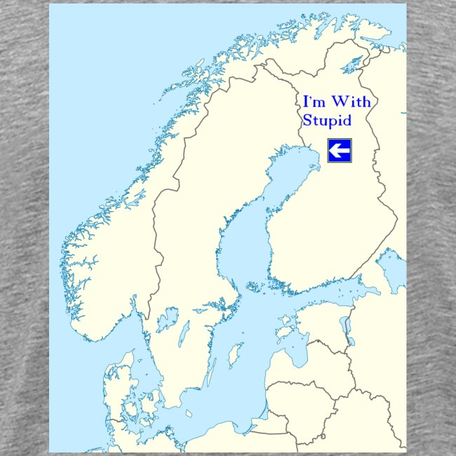I'm With Stupid (Sweden edition)