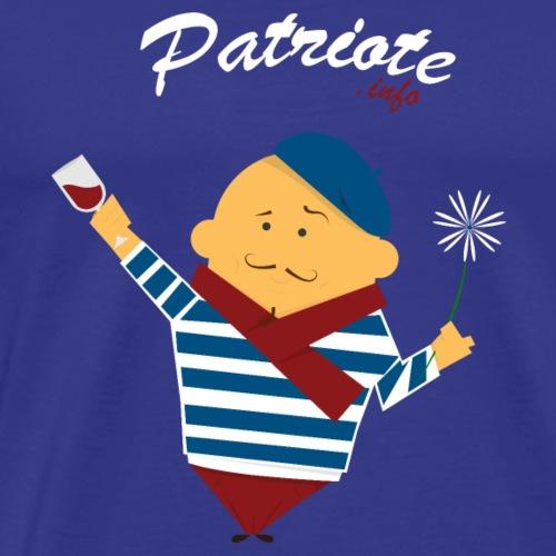 Le petit patriote info style 12 - T-shirt Premium Homme