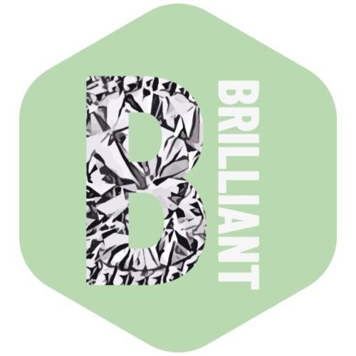 B brilliant green - Mannen Premium T-shirt