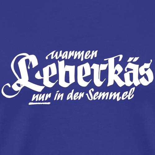 Leberkäs Semmel - Männer Premium T-Shirt