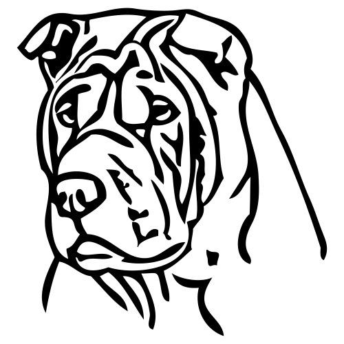 sharpei - www.dog-power.nl - Mannen Premium T-shirt