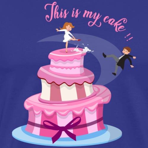 Esta es mi tarta - Camiseta premium hombre