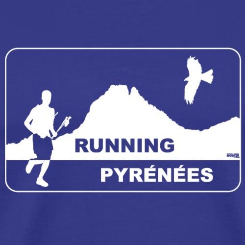 Running Pyrénées V1 - T-shirt Premium Homme