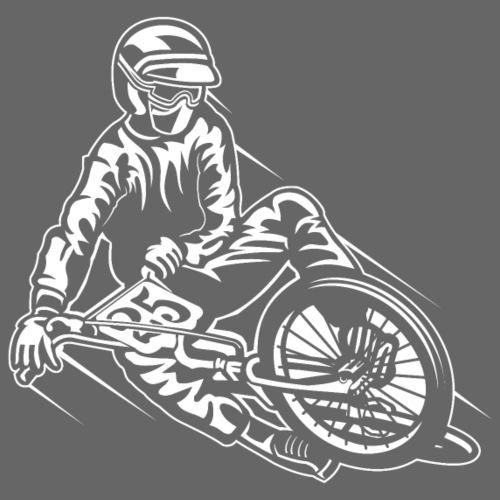 BMX / Mountain Biker 03_weiß - Männer Premium T-Shirt