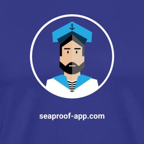 SeaProof App - Männer Premium T-Shirt