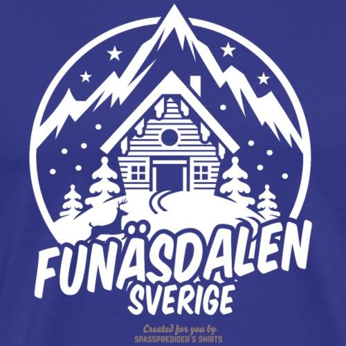 Funäsdalen Sverige Ski Resort T Shirt Design - Männer Premium T-Shirt