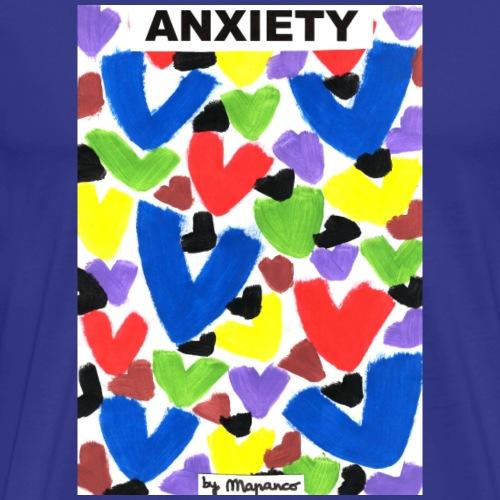 ANXIETY - Camiseta premium hombre