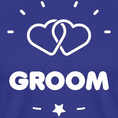 GROOM + HEART - T-shirt Premium Homme