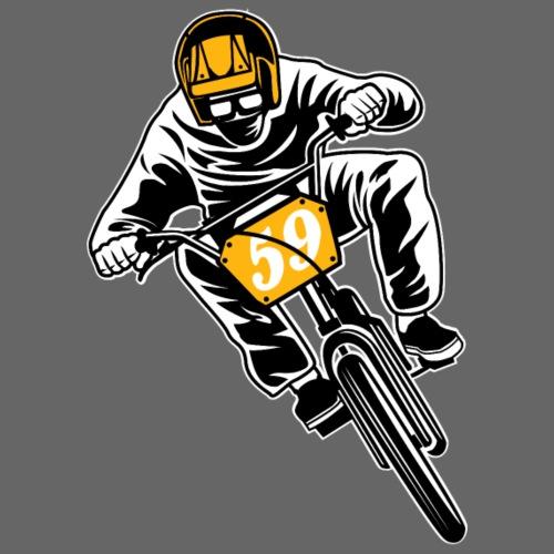 BMX Fahrrad / Bike 02_dreifarbig - Männer Premium T-Shirt