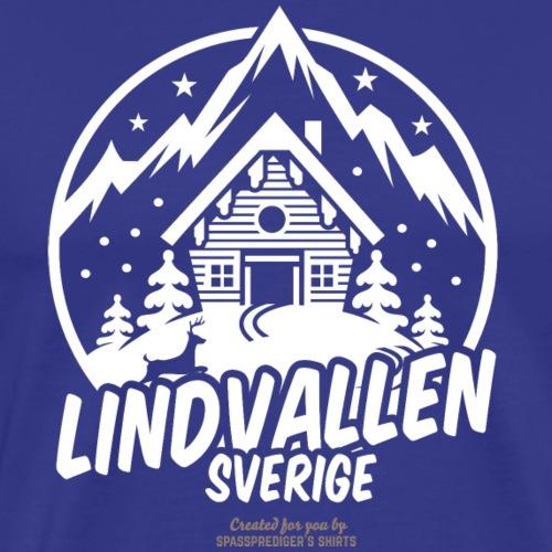 Lindvallen Sälen | Ski T-Shirts - Männer Premium T-Shirt