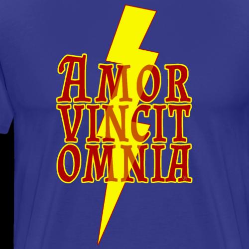 Amor vincit omnia - Men's Premium T-Shirt