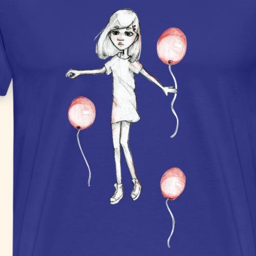 20180925 Baloon2 - Premium-T-shirt herr