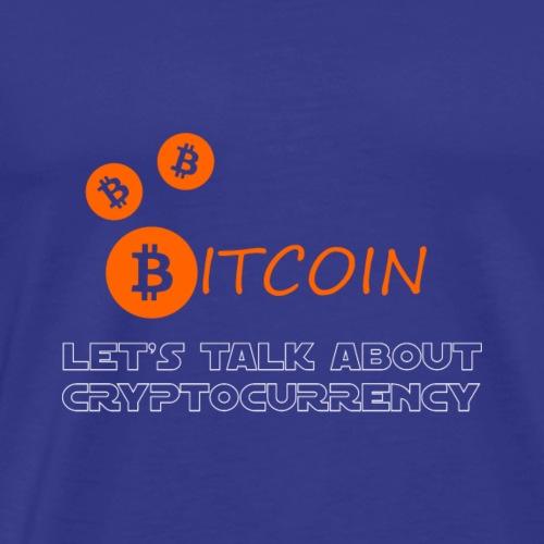 Bitcoin Cryptocurreny - Männer Premium T-Shirt