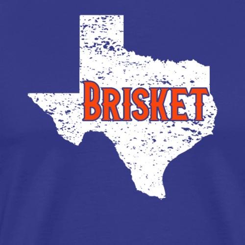 Brisket BBQ Barbeque State of Texas Vintage - Männer Premium T-Shirt