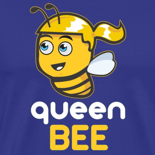 Imker: The Queen BEE - Männer Premium T-Shirt