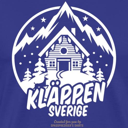 Kläppen Sälen | Ski T-Shirts - Männer Premium T-Shirt