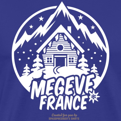 Megeve France - Männer Premium T-Shirt