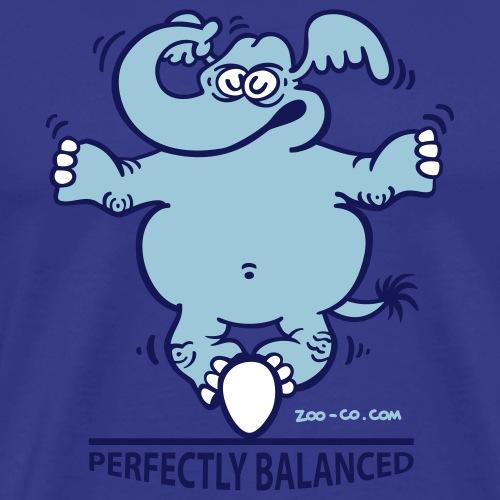 Balanced Elephant - Men's Premium T-Shirt