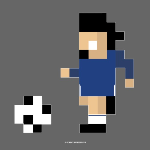 8 Bit Series - Chelsea 17/18 - Men's Premium T-Shirt