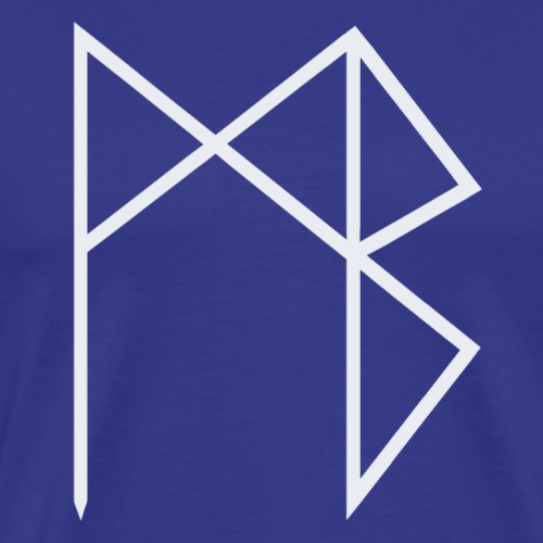 Binderune Mannaz - Uruz - Berkana - Männer Premium T-Shirt