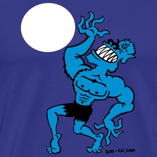 Wolf Man - Men's Premium T-Shirt