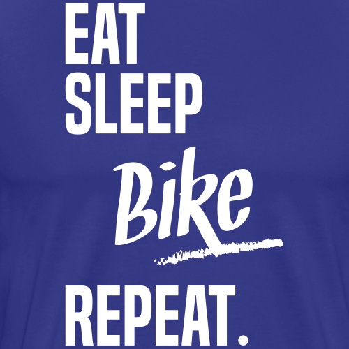 EAT SLEEP BIKE - T-shirt Premium Homme