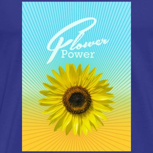 Sonnenblume Sommer Sonnenstrahlen glücklich hygge - Men's Premium T-Shirt