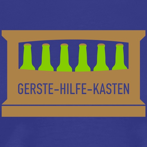 Shop Gerste Hilfe Kasten - Männer Premium T-Shirt