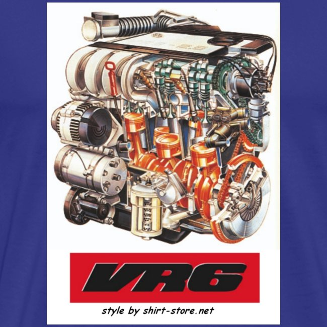 VR6 Motor Farbe by Shirt-Store.net