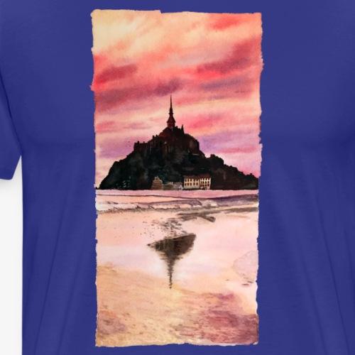 Mont St Michel - Men's Premium T-Shirt