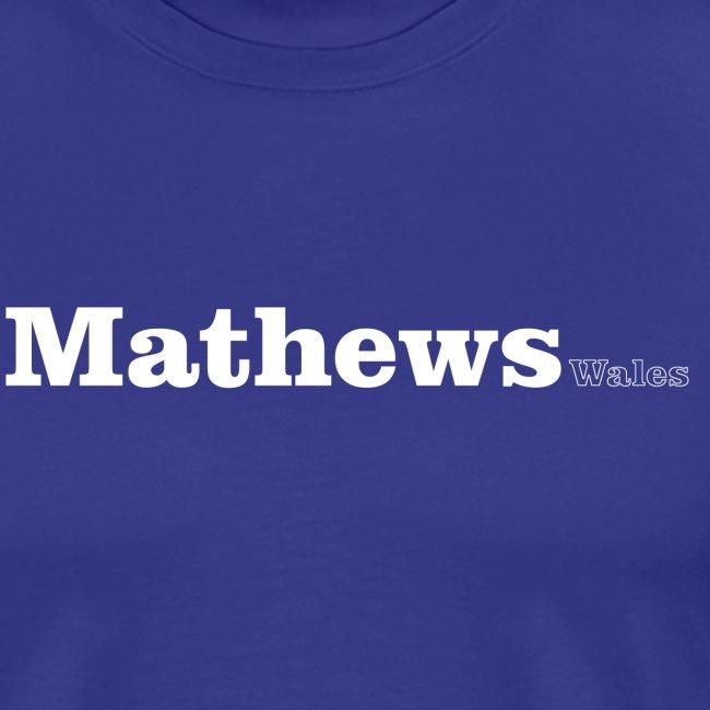 mathews wales white